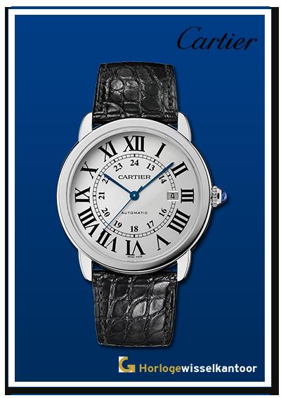 Cartier-horloge-Ronde-Louis-horloge