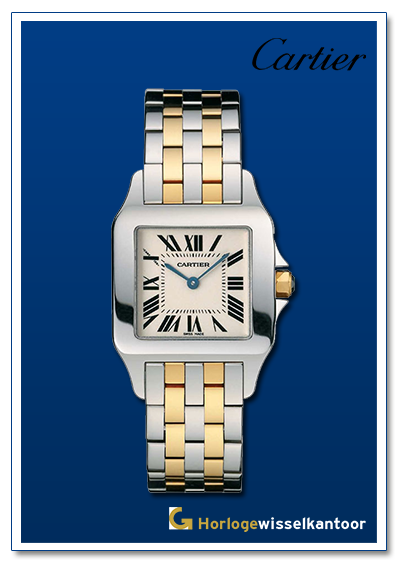 Cartier-horloge-Santos-horloge