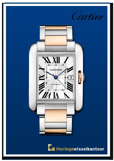 Cartier-horloge-Tank-horloge