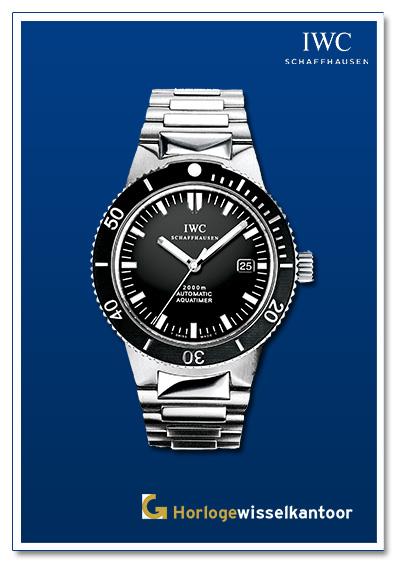 IWC horloge Aquatime