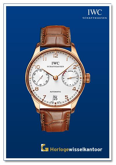 IWC horloge Portugese family