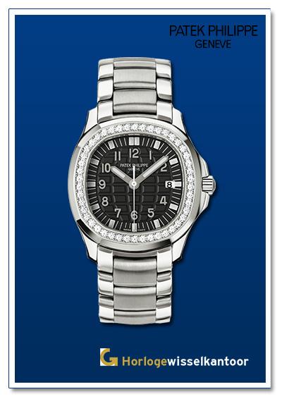 Patek Philippe horloge Aquanaut