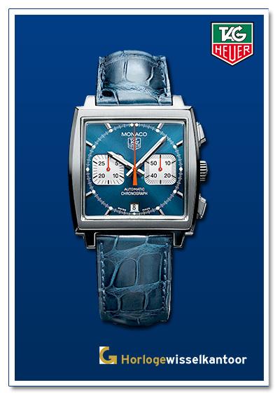 Tag Heuer horloge Monaco-horloge