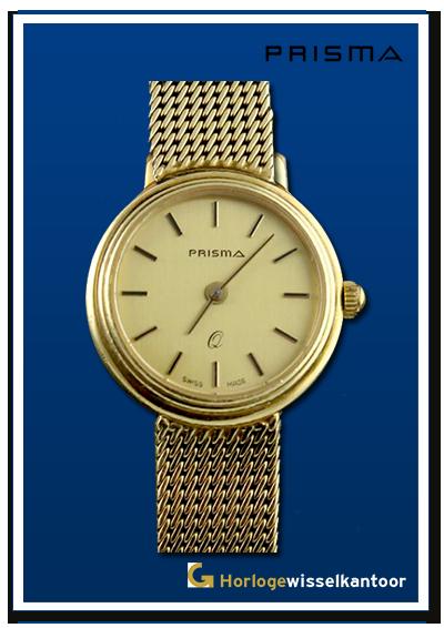Prisma-horloge-gouden-dames-horloge