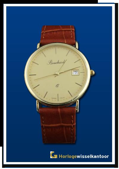 Bouchard-horloge-Gouden-heren-horloge