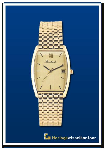 Bouchard-horloge-met-gouden-band