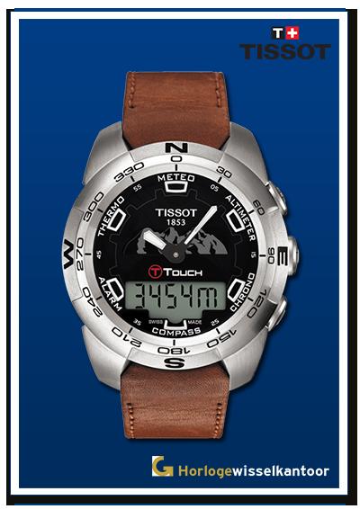 Tissot-horloge-T-Touch-horloge