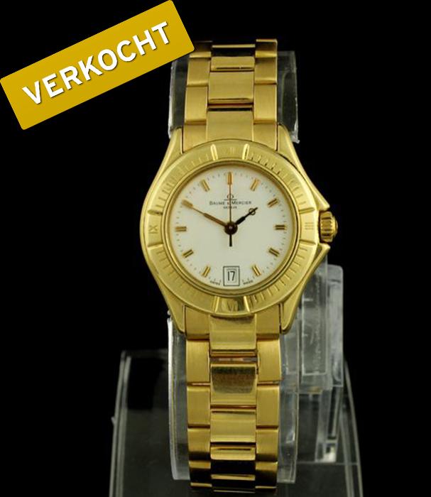 Baume-&-Mercier-dames-horloge-verkocht