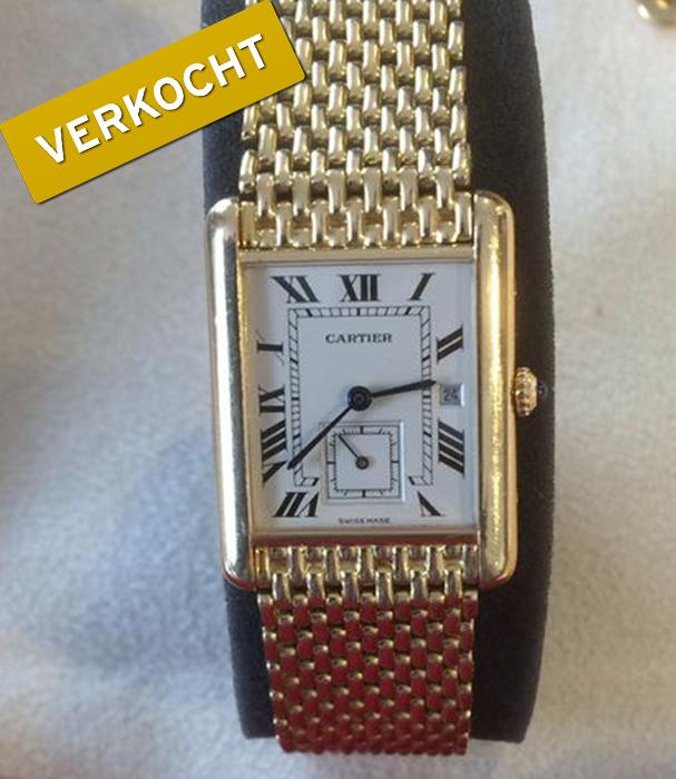 Cartier-Tank-heren-horloge-verkocht