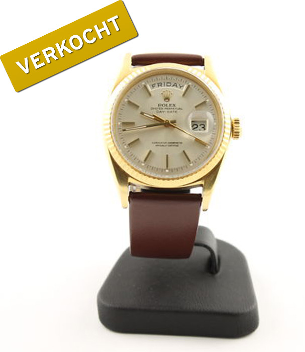 Rolex-Oyster-Perpetual-Day-Date-verkocht