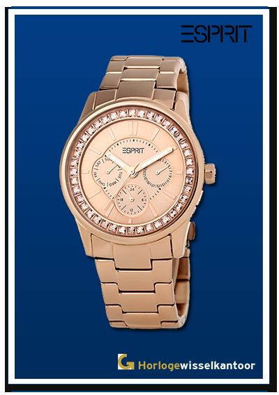 Horlogewisselkantoor-Esprit-rose-dameshorloge