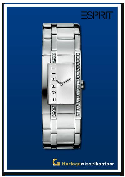 Horlogewisselkantoor-Esprit-silver-houston-dameshorloge