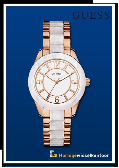Horlogewisselkantoor-Guess-cermamic-horloge