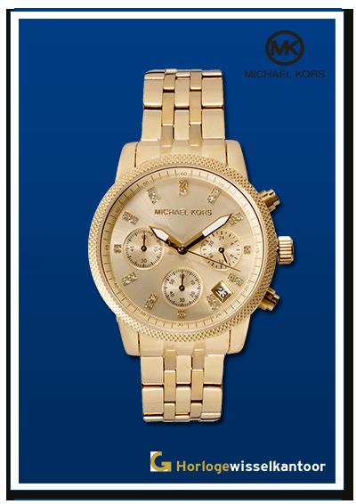 Horlogewisselkantoor-Michael-Kors-gold-dames-horloge