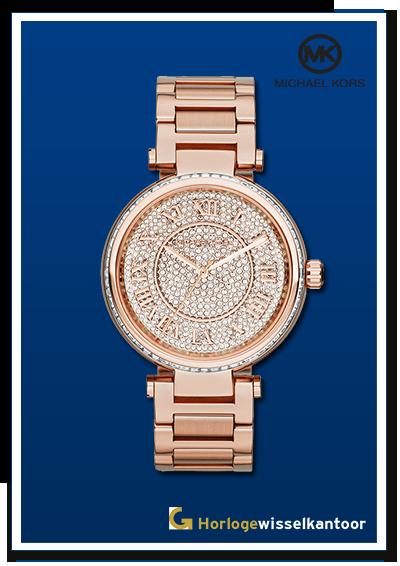 Horlogewisselkantoor-Michael-Kors-rose-dames-horloge