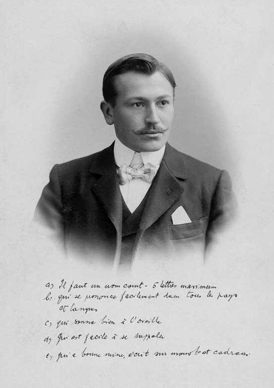 Rolex oprichter Hans Wilsdorf.