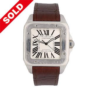 Cartier Santos 100 XL herenhorloge