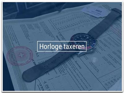 Horloge laten taxeren
