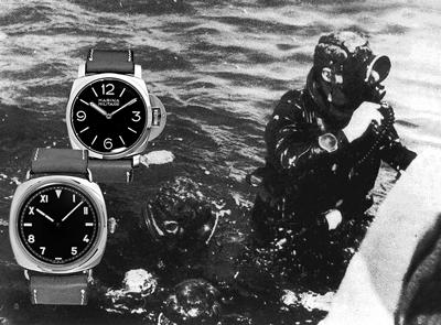 Panerai ontwikkeld de Radiomir voor Italiaanse marine